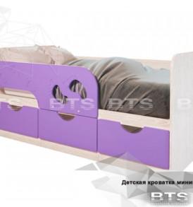Детская кровать»Минима. Лего»1,60