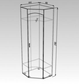 Модульная система»Ока-8″  Шкаф угловой ЛДСП (венге/дуб)
