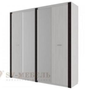 Модульная система» Гамма-20″ Шкаф комбинированный 4-х створчатый