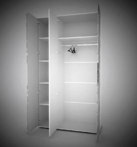 Модульная система » Сорренто» Шкаф 2х дверный с  зеркалом