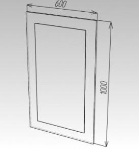 Модульная система»Ока-8 Зеркало №1 ЛДСП(венге)