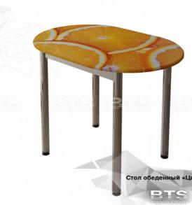 Стол обеденный с принтом «Лайм»
