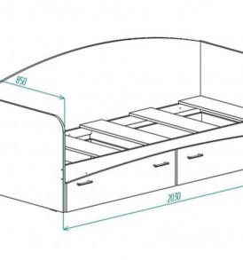 Кровать для детской» КР-1″