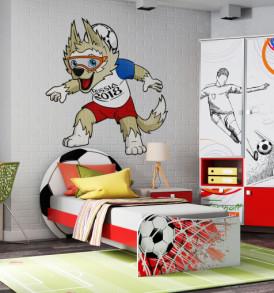 Стеллаж для детской » Футбол»