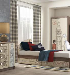Кровать для детской КР-21″ Лондон»