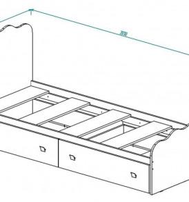 Кровать для детской КР-18″ Париж»