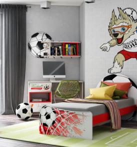Кровать для детской КР-33  «Футбол»
