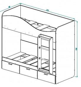 Кровать для детской КР-5 «Ретро»