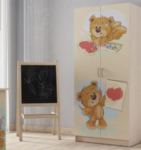 Шкаф для детской » Мишки»