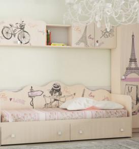 Кровать для детской КР-24″Париж»