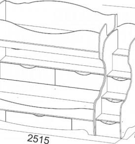 Детская » Акварель-1″- Кровать 2х ярусная