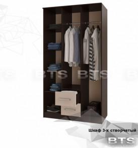 Модульная система «Фиеста» Шкаф 3-х дверный ( венге/ лоредо)