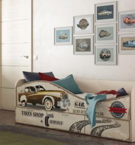 Кровать для детской КР-3 «Ретро»