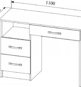 Модульная система » Софи» Стол макияжный СМС 1100.2