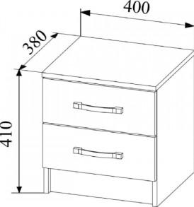 Модульная система » Софи» Тумба СТБ400.1