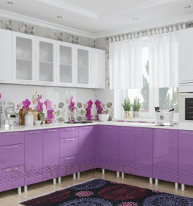 Кухня «Волна МДФ» Панель декоративная С 400т