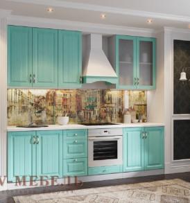 Кухня «Прованс» Шкаф  Витрина со стеклом ШГ500c / Н 360