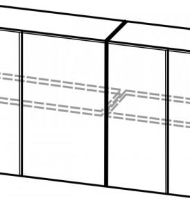 Кухня «Модерн» Шкаф c фотопечатью Ш 1400/Н720