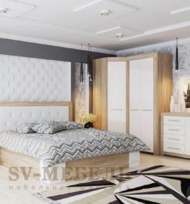 Спальня  «Лагуна- 6″ Пенал