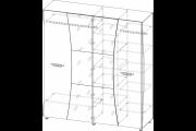 Шкаф 4х-2-1200x800