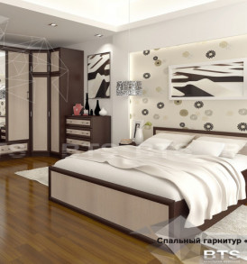 Спальня  » Модерн» Кровать 1.60 м Без основания!!!