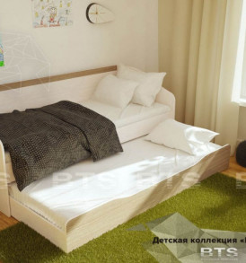 Модульная детская » Паскаль» Кровать с ящиками
