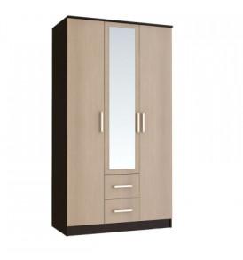 Модульная система «Фиеста» Шкаф 3-х дверный (ясень шимо темный/ светлый)
