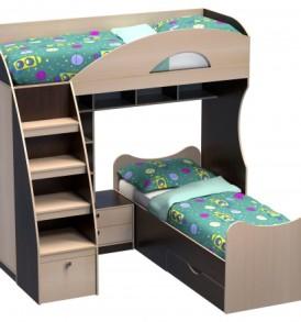 Кровать детская  «Гуливер» с кроватью
