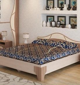 Спальня  «Лагуна- 5″ Кровать 1.40