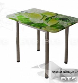 Стол обеденный МДФ с принтом «Лайм»
